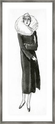 Mme. Revel Framed Print