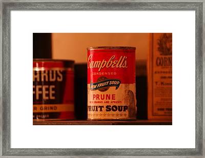 mmm mmm  Good Framed Print by Jeff Swan