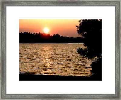 Mn Sunset Framed Print by Bridget Johnson