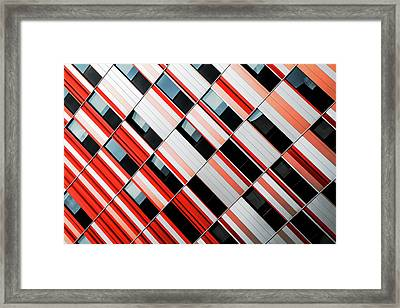 Mo-za Framed Print by Gilbert Claes