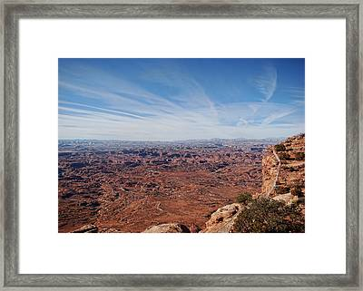 Moab  Framed Print by Cathy Anderson