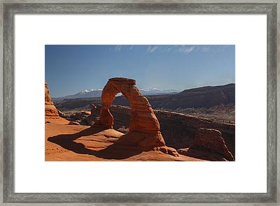 Moab Framed Print by Jeff Welton