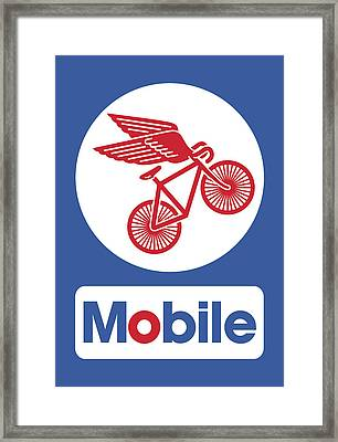 Mobile Framed Print by Mike Lopez