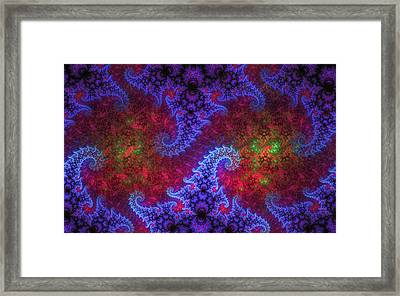 Framed Print featuring the digital art Mobius Unleashed by GJ Blackman