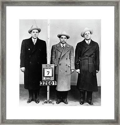 Mobsters, 1940 Framed Print by Granger