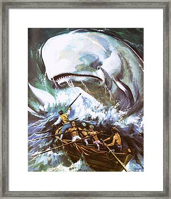 Moby Dick Framed Print by English School