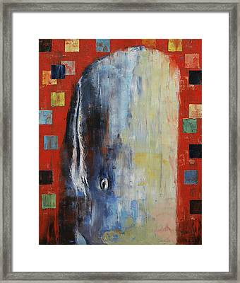 Moby Dick Framed Print by Michael Creese