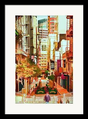 Stockton Street Framed Prints