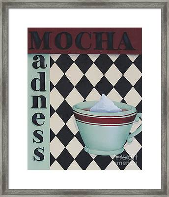 Mocha Madness Framed Print by Catherine Holman