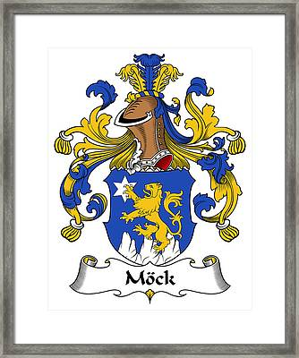 Mock Coat Of Arms German Framed Print