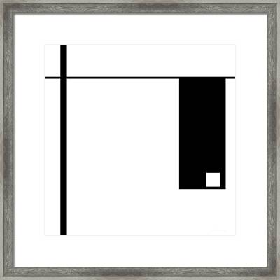 Moda 1 - Modern Art By Sharon Cummings Framed Print by Sharon Cummings