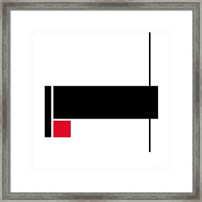 Moda 2 - Modern Art By Sharon Cummings Framed Print by Sharon Cummings