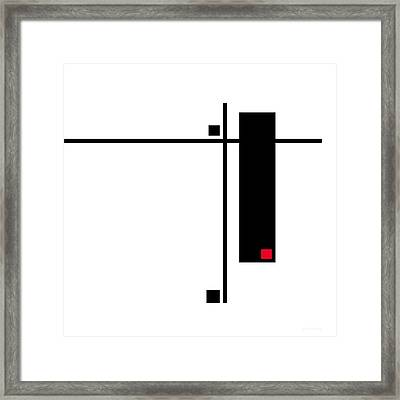 Moda 7 - Modern Art By Sharon Cummings Framed Print by Sharon Cummings