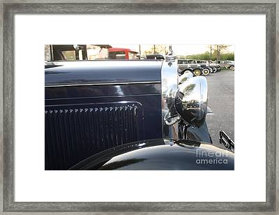 Model A Reflections Framed Print by Connie Mueller
