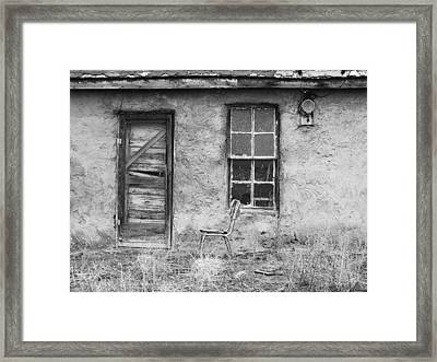 Model Ghost Town Framed Print by Anna Villarreal Garbis