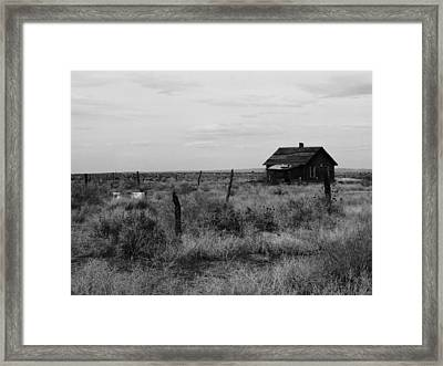 Model Home Framed Print