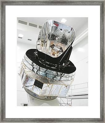 Model Of Planck Space Observatory Framed Print