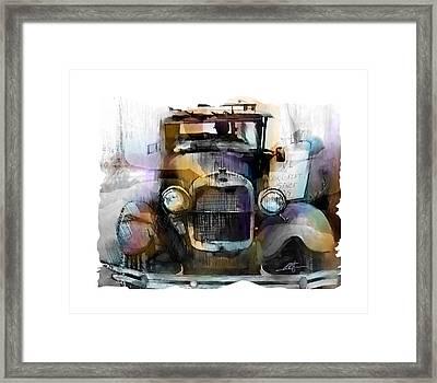 Model T Framed Print by Bob Salo