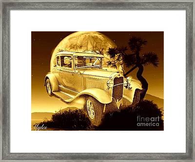 Model T Fantasy  Framed Print