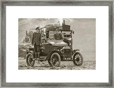 Model T Of War  Framed Print by Rob Hawkins
