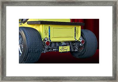 Model T Roadster Pick Up II Framed Print