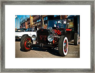 Model T Xtra Framed Print by Sonja Quintero
