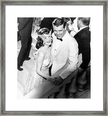 Model Wearing Lord West Tuxedo Framed Print by Richard Waite