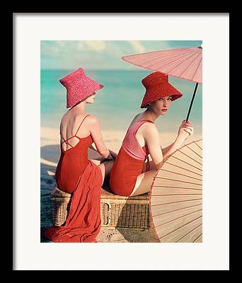 Swimwear Framed Prints