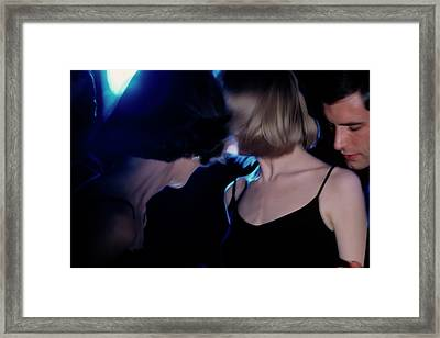 Models With Swing Hairstyles Framed Print by Sante Forlano