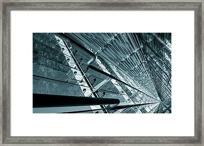 Modern Abstract Architecture Framed Print by Wladimir Bulgar