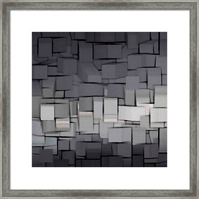 Modern Abstract Art Xx Framed Print