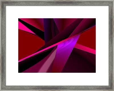 Modern Abstract Framed Print