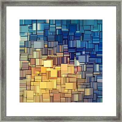 Modern Abstract Vii Framed Print