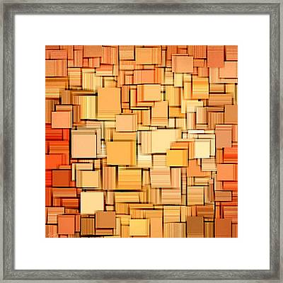 Modern Abstract Xvi Framed Print