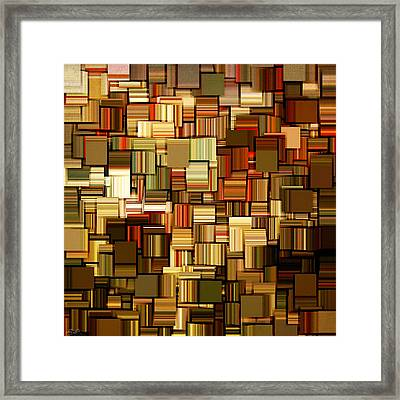 Modern Abstract Xxiii Framed Print by Lourry Legarde