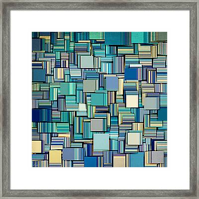 Modern Abstract Xxiv Framed Print by Lourry Legarde