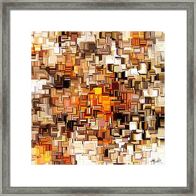 Modern Abstract Xxvi Framed Print