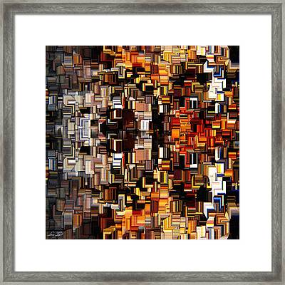 Modern Abstract Xxvii Framed Print