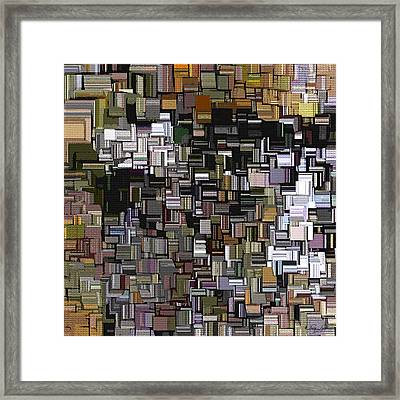 Modern Abstract Xxxii Framed Print by Lourry Legarde