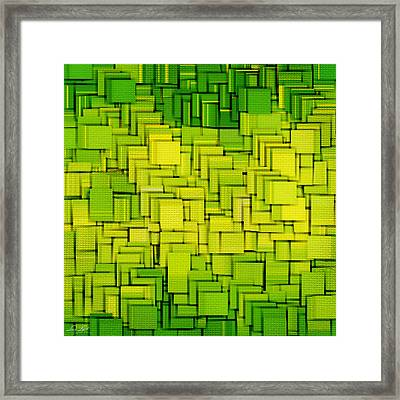 Modern Abstract Xxxiii Framed Print by Lourry Legarde