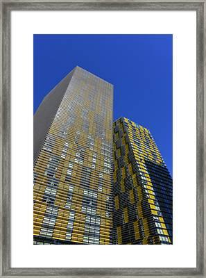 Modern Architecture Las Vegas Framed Print by David Lee Thompson