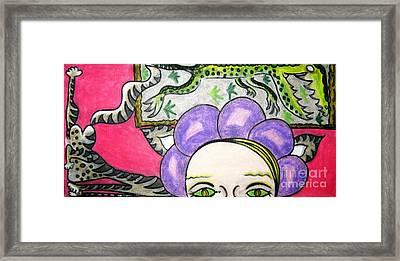 Modern Art Evolution Framed Print by Lois Picasso