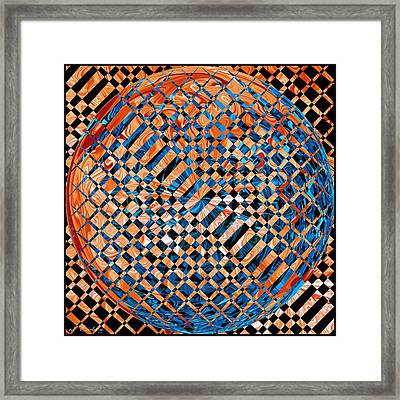 Framed Print featuring the digital art Modern Art Iv by Roy Erickson