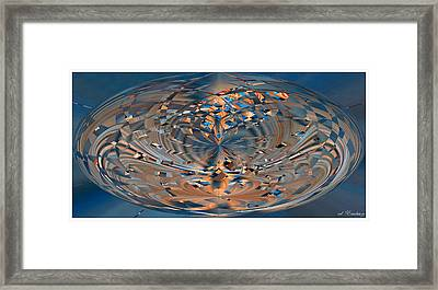 Framed Print featuring the digital art Modern Art Vi by Roy Erickson