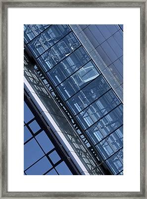 Modern Building Elevator Framed Print