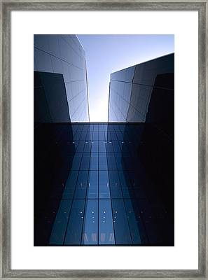 Modern Building Vertical Framed Print
