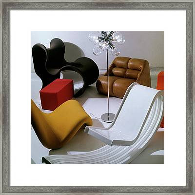 Modern Chairs Framed Print