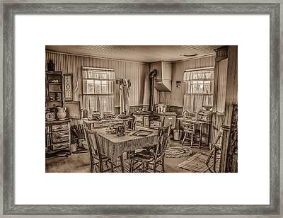 Modern Conveniences #2 Framed Print by Ray Congrove