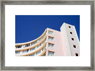 Framed Print featuring the photograph Modern Curves by Keith Armstrong
