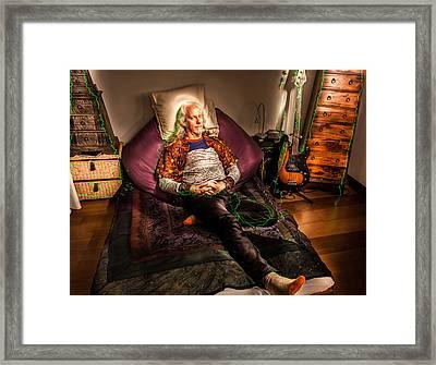 Modern Day Jesus Framed Print by Semmick Photo